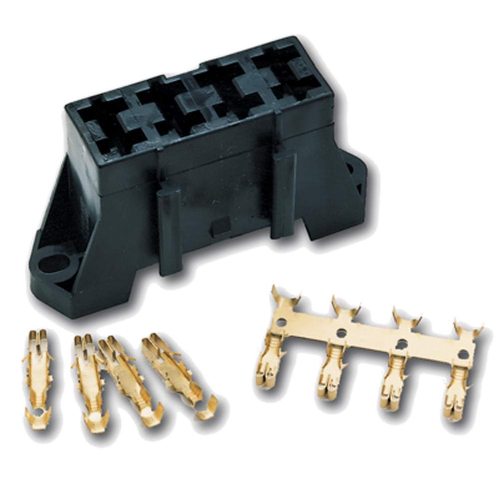 AB-4  Auto Fuse Block - 4 Gang