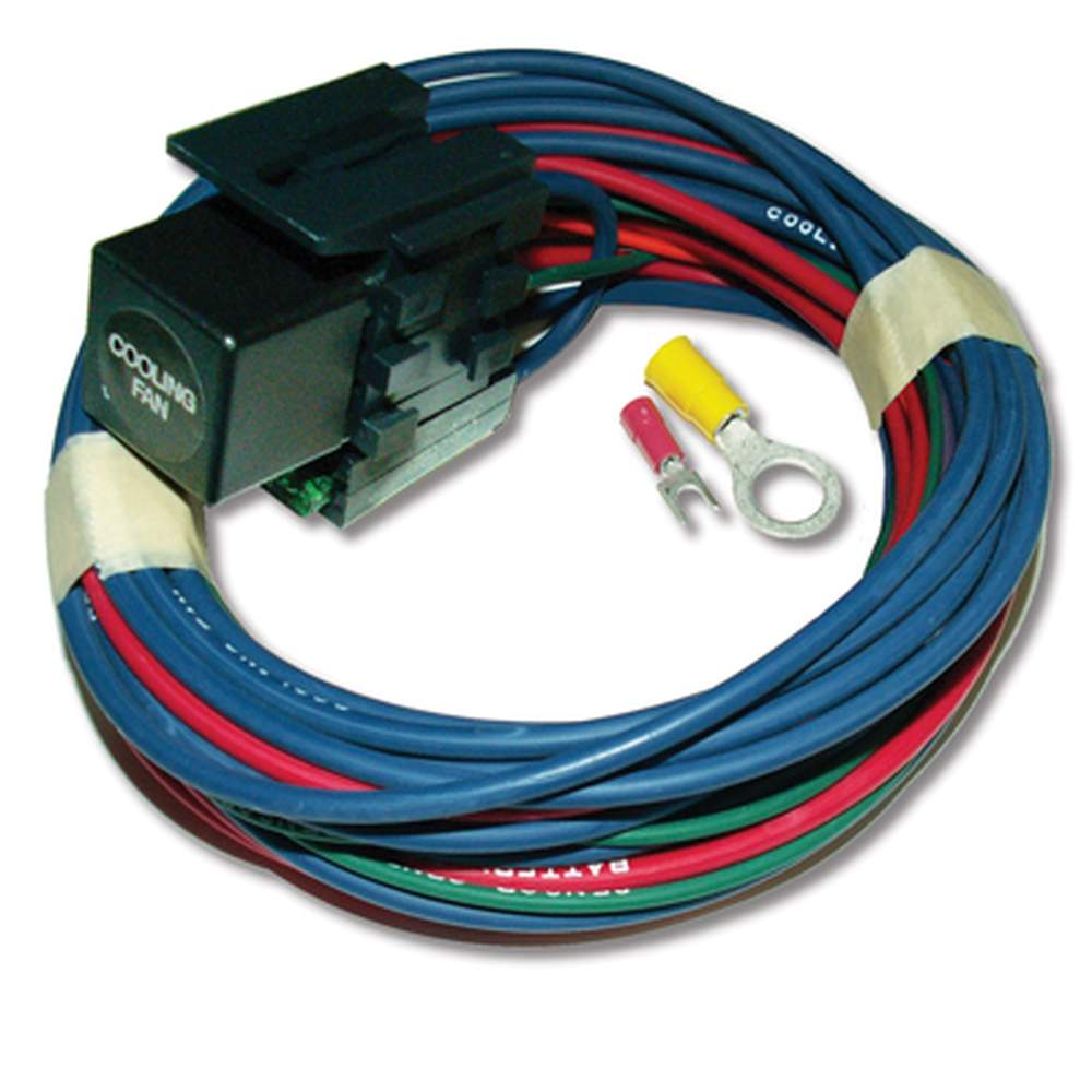 AR-35  Cooling Fan Relay + Wires - Stand Alone (NO Sensor)