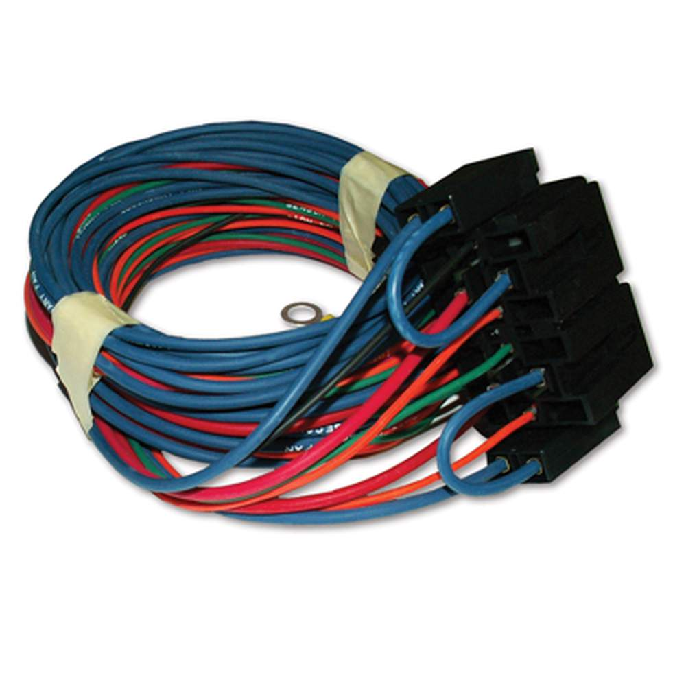AR-79 Dual Fan System Relay+Wires - Ign Activated