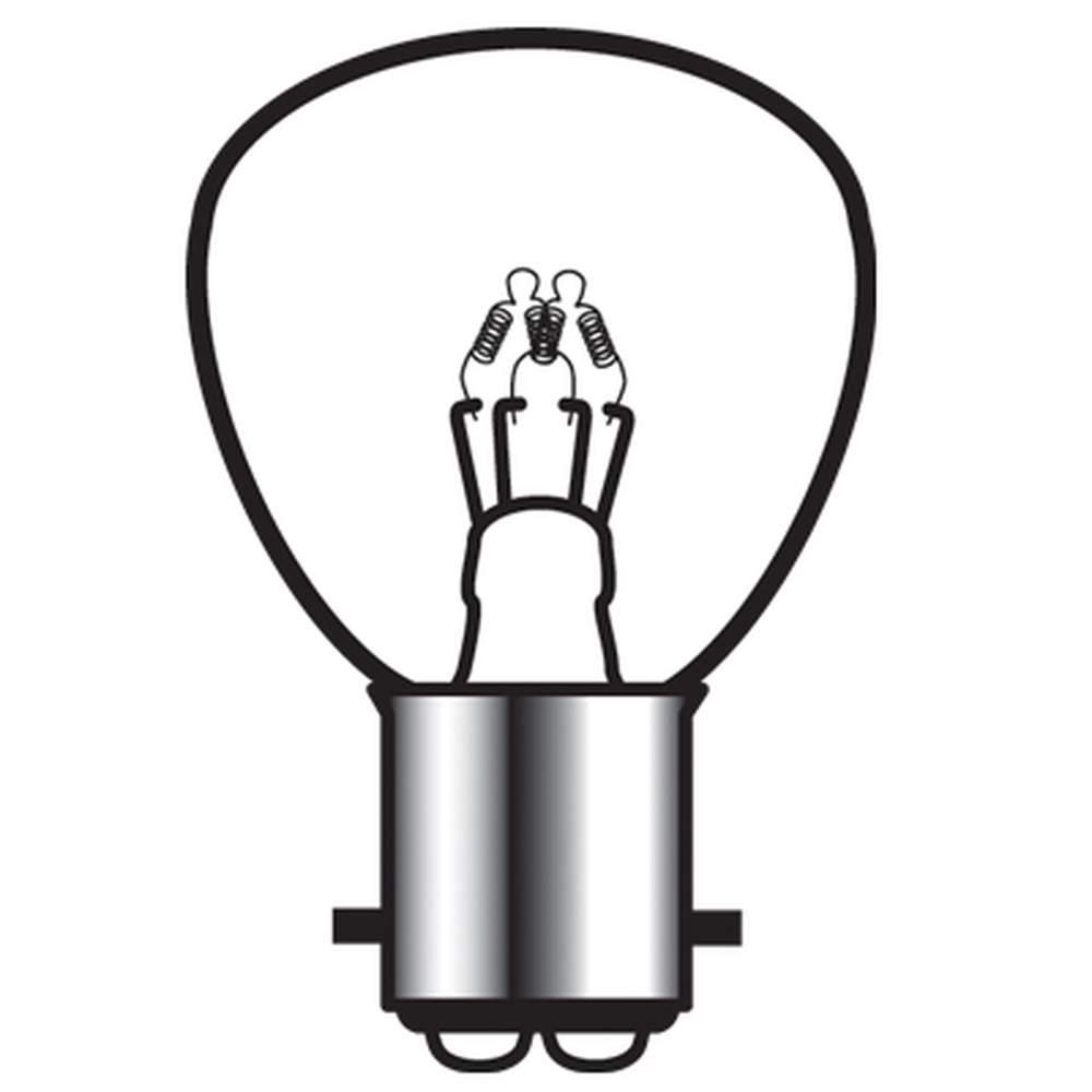 B-1125  1125/1124 Bulb 125/75 Cp