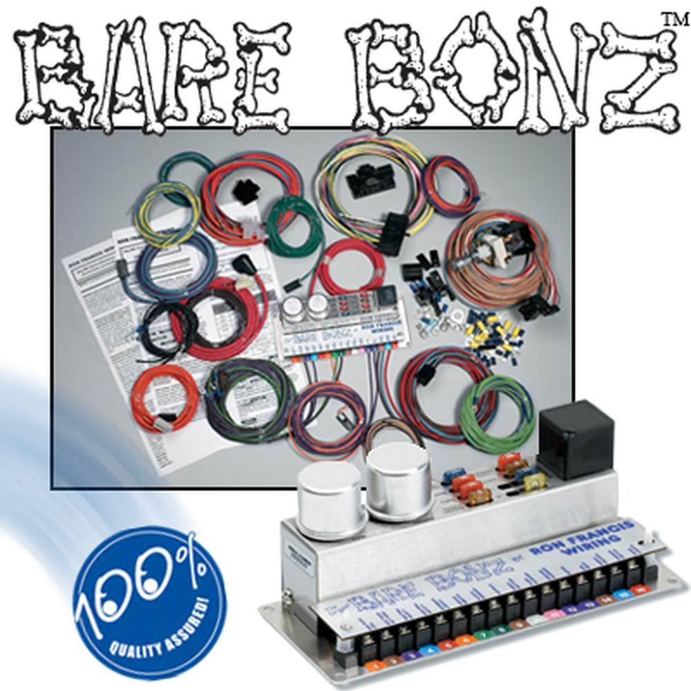 BB-68  Mopar Powered BARE BONZ Wiring Kit