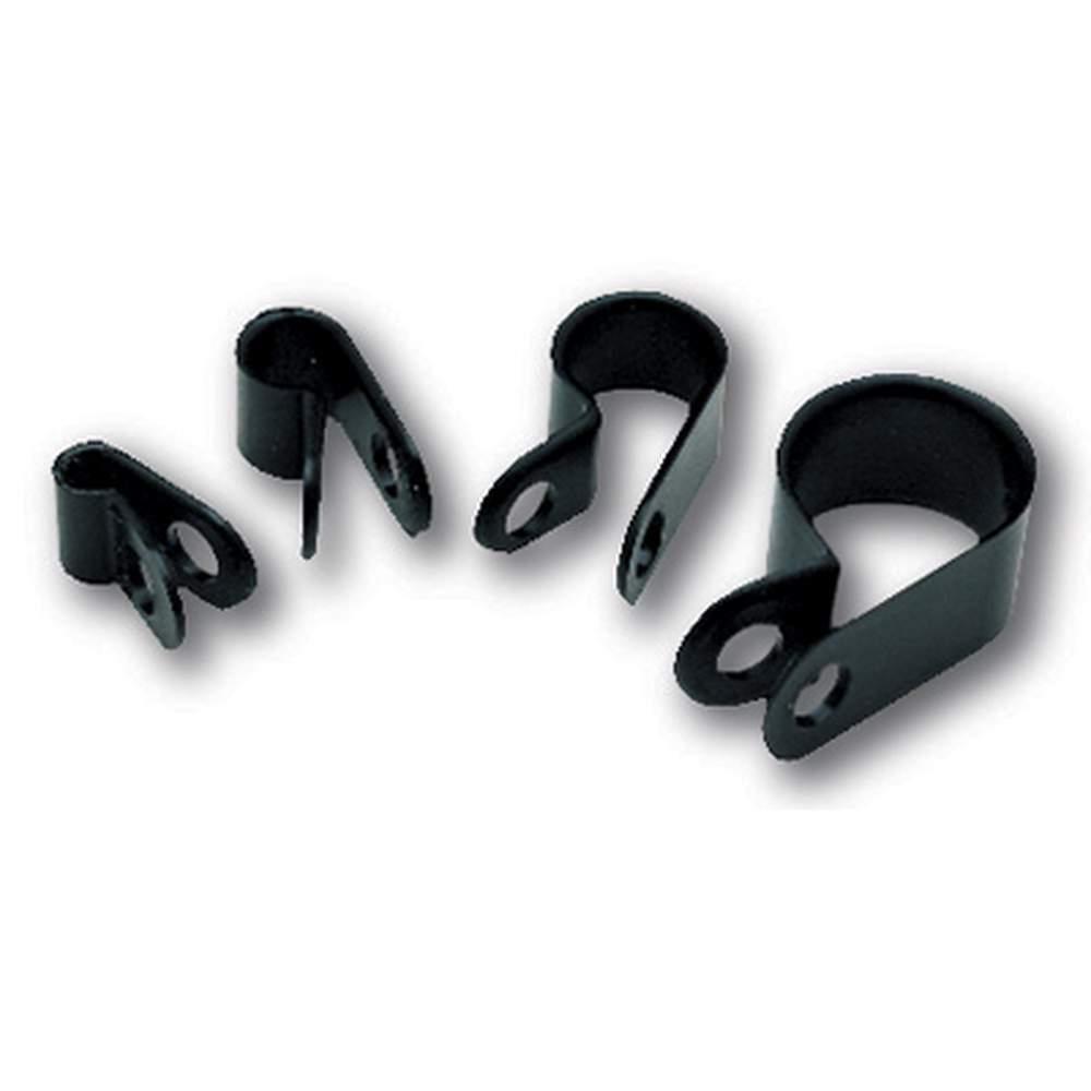 CA-12  Black Nylon Clamps 1/2