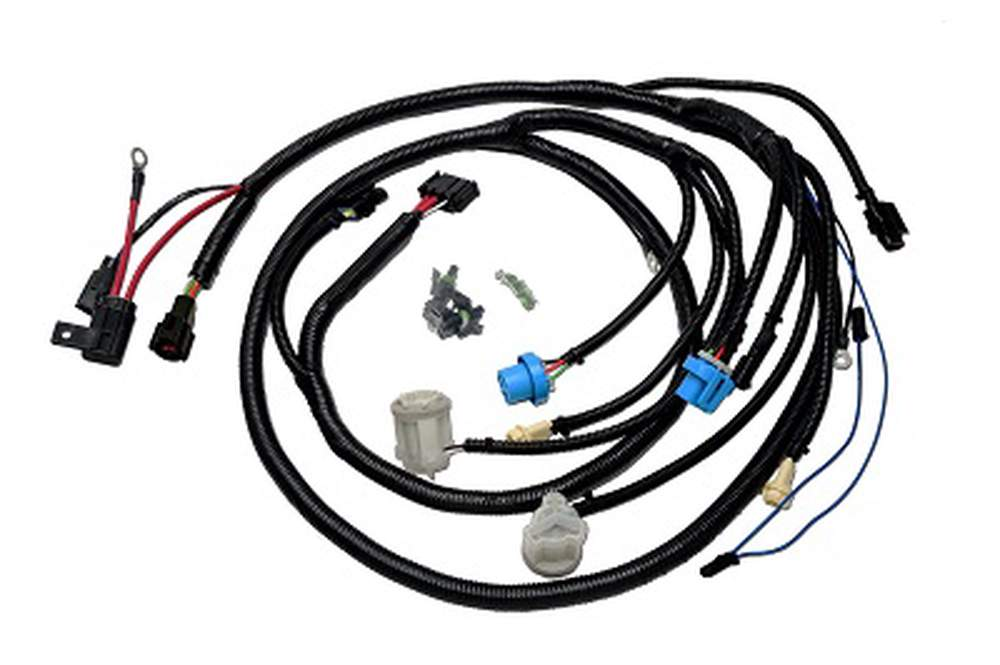 FH-076 Mustang Front Lighting Harness 87-90 With 3G/4G Alternator