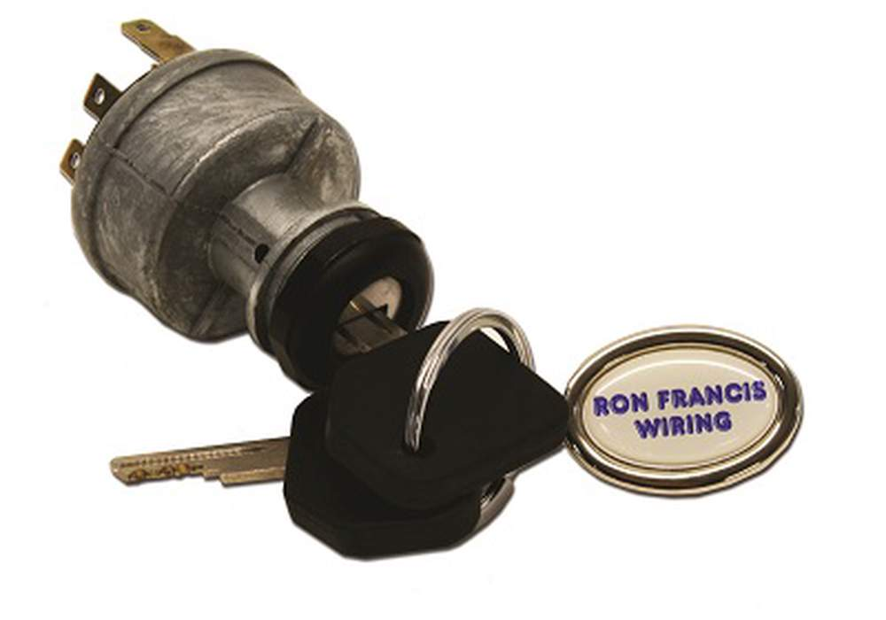 "IS-05 Ignition Switch & Plug. w/ 1"" Mounting Hole"