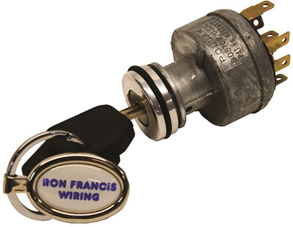 "IS-06 Ign Sw w/Plug & Accent Rings w/ 1"" Mounting Hole"