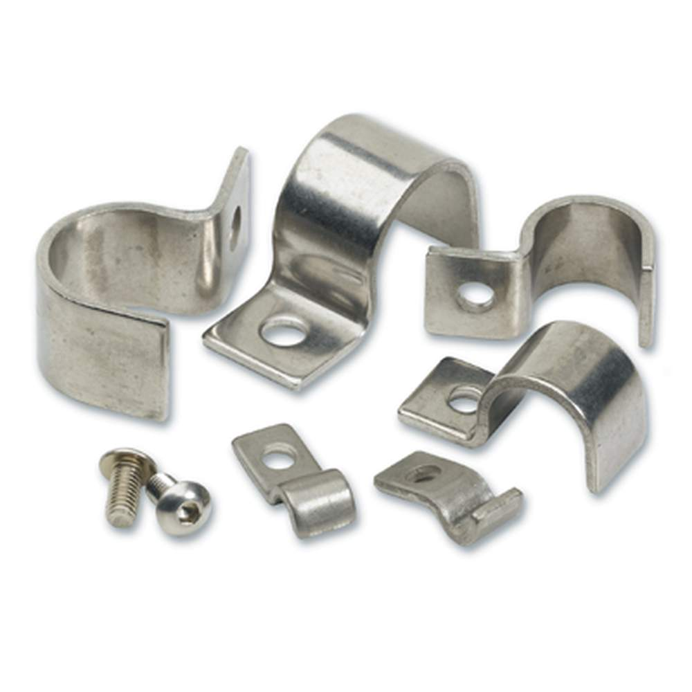 KC-14  1/4 Stainless Steel Clamps