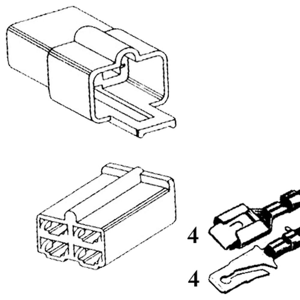 QCK-4  Four Quick Connector