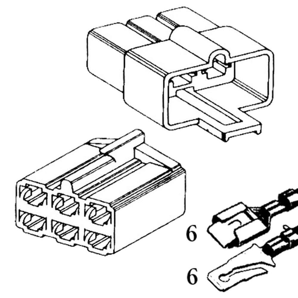 QCK-6  Six Quick Connector