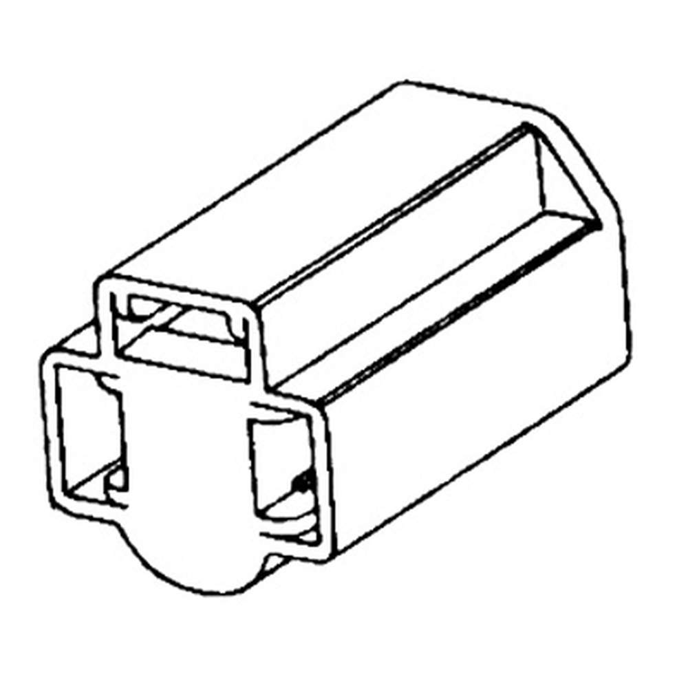 SB-5  Seal Beam Headlight Connector