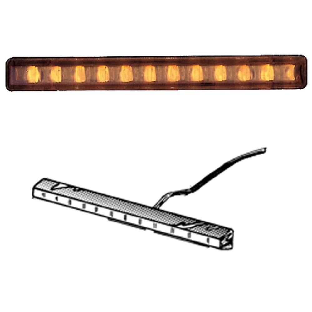 TD-4A  4 Amber LED - Light Bar Only