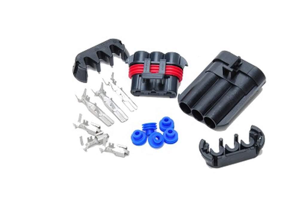 TK-3HD Heavy Duty 3 Gang Weatherpak Connector Kit