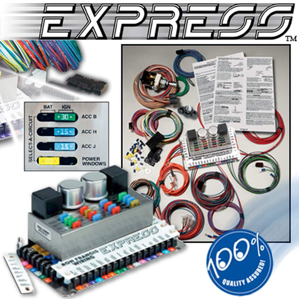 XP-68  Dodge/Chrysler Powered EXPRESS Wiring System