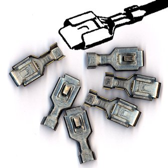 AM-99  Headlight Terminals - Pkg of 50 pcs