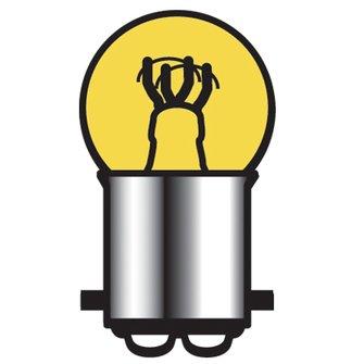 B-1005A  (A) 15/3 Cp Bulb (- -pin)