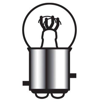 B-1007  15/3 Cp Bulb (- _pin)