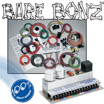 BB-68  Mopar Powered BARE BONZ Wiring Kit