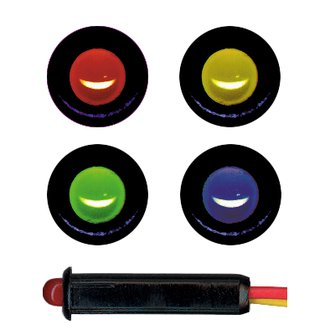 DA-16  Amber LED Dash Indicator Light
