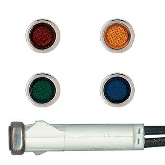 DR-32  Red Dash Indicator Light (5/16)