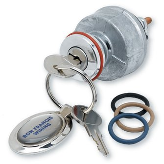 IS-07  SYNERGY SERIES Polished Billet Ignition Switch