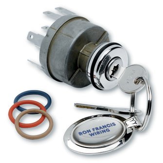 IS-08  SYNERGY SERIES Polished Billet Ignition Switch