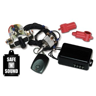 MS-11  Safe & Sound Battery Disconnect - Single Function