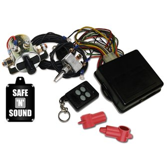 MS-44  Safe & Sound Battery Disconnect - Four Function