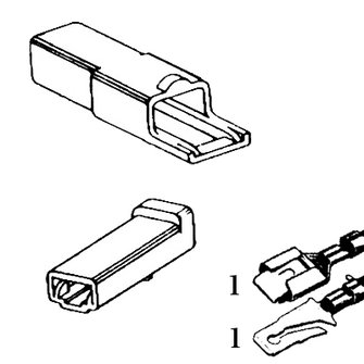 QCK-1  Single Quick Connector