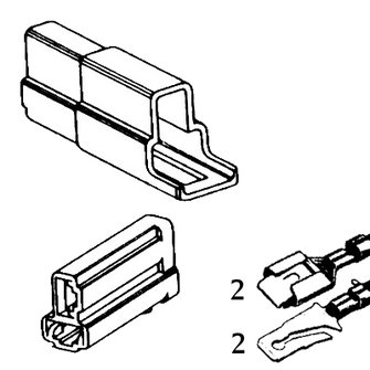 QCK-2  Double Quick Connector