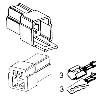QCK-3  Triple Quick Connector