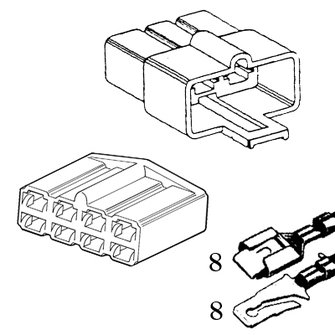 QCK-8  Eight Quick Connector
