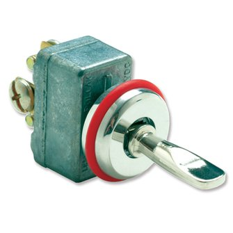 TG-302  CLASSIC SERIES Momentary Toggle Switch  -  On-Off-On
