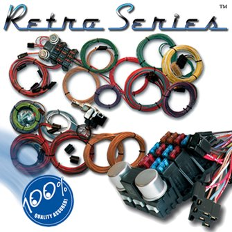 WR-85  RETRO SERIES Chevy Powered Wiring Kit